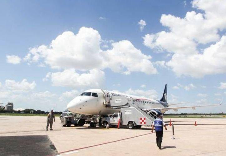 El avión presentó fallas minutos después de salir del aeropuerto de Mérida. (Imagen ilustrativa/ SIPSE)