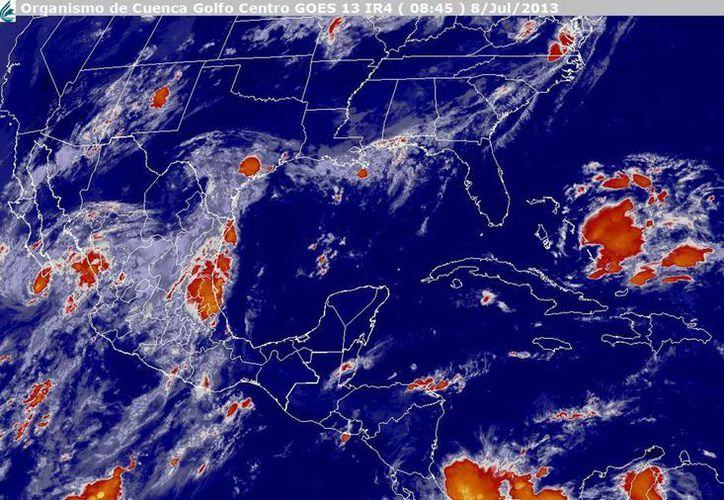 Chantal  podría afectar a las zonas costeras de las Islas Vírgenes de Estados Unidos y Puerto Rico. (Notimex)