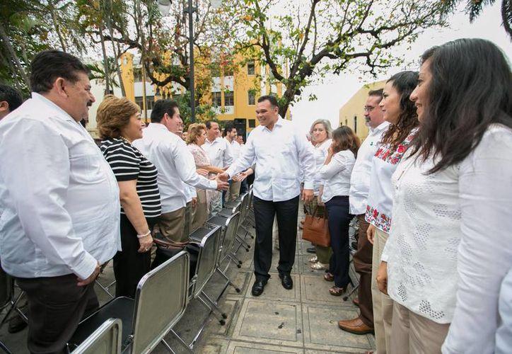 El gobernador Rolando Zapata tiene dos eventos programados para este viernes, entre ellos la inauguración de la Expocampo Yucatán 2016. (Milenio Novedades)