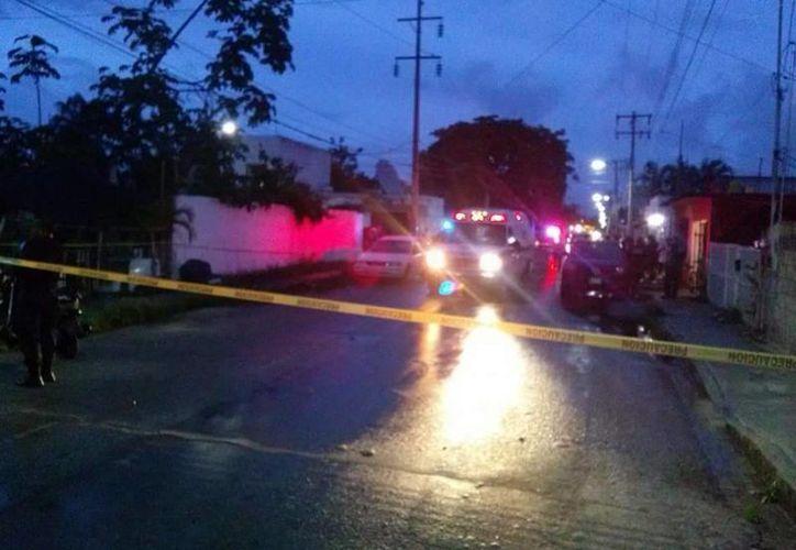 El cuerpo de una mujer de ochenta años fue encontrado sin vida y con signos de violencia, en Cozumel. (Irving Canul/SIPSE)