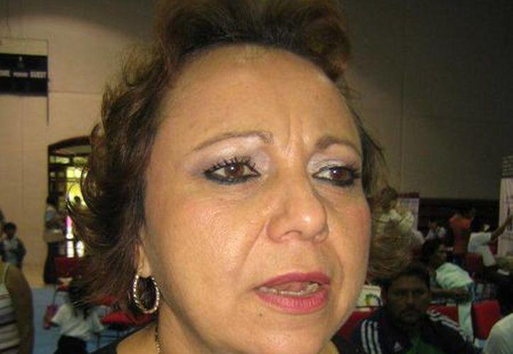 A las 18 horas registrará su candidatura Alicia Ricalde Magaña. (Lanrry Parra/SIPSE)