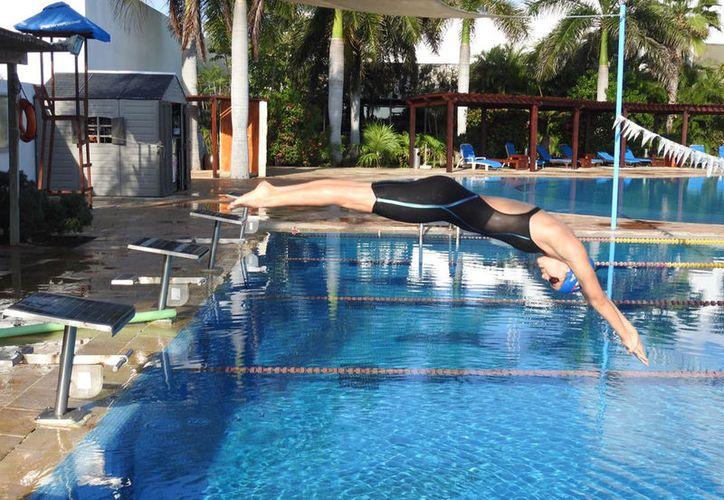 La cancunense incursionará en las pruebas de 50 y 100 libres, 50 y 100 dorso, 50 mariposa y 200 metros combinado. Foto: Redacción/SIPSE