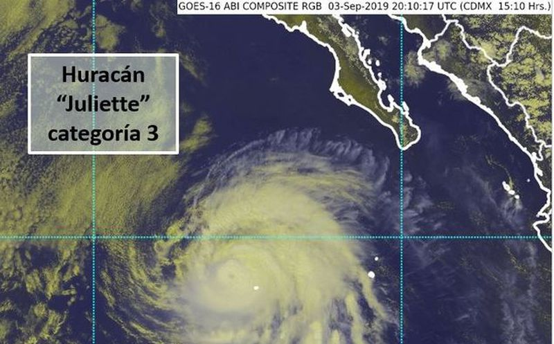 Se forma tormenta tropical Juliette al suroeste de Jalisco