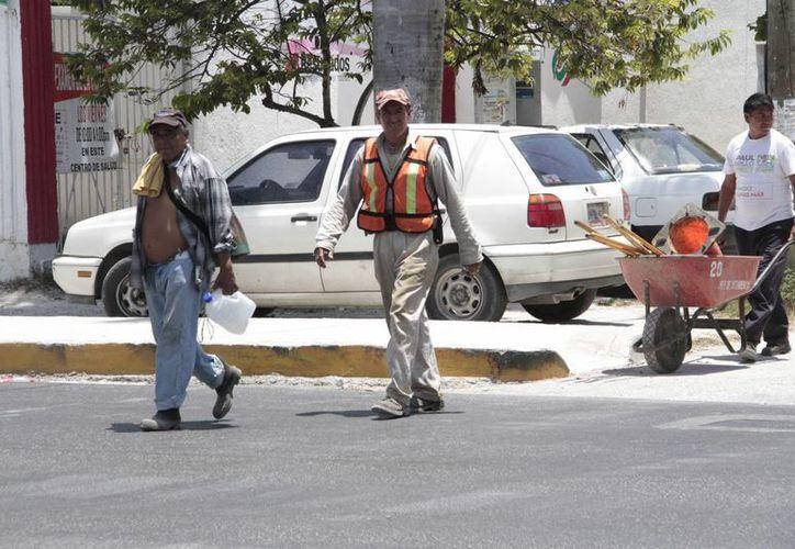 Los empleados sindicalizados han recibido el pago. (Tomás Álvarez/SIPSE)