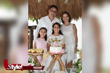 Primera comunión de Sofía Evia Espinosa