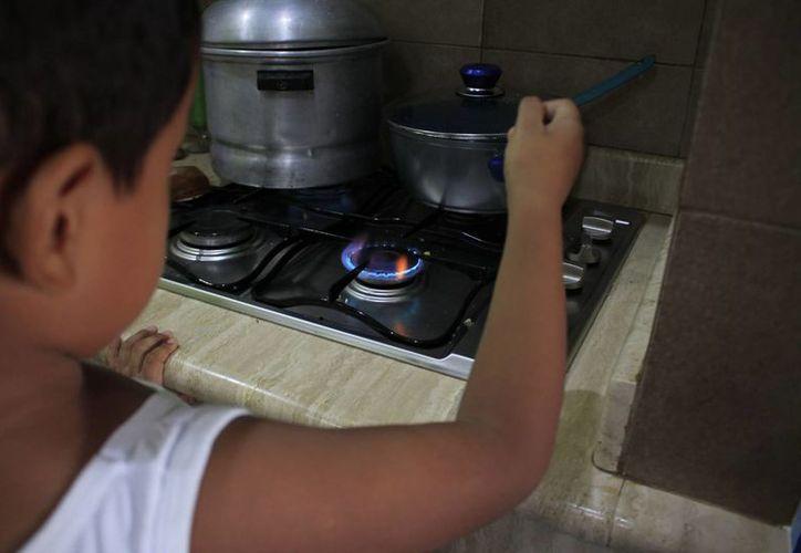 En temporada invernal las quemaduras por agua o comida hirviendo (escaldaduras) tiene un leve incremento. (Harold Alcocer/SIPSE)