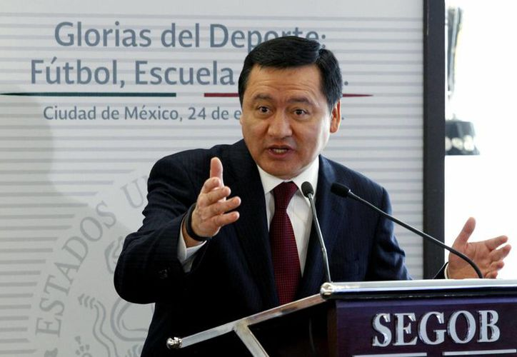 El secretario de Gobernación, Miguel Ángel Osorio Chong, dijo que las instituciones municipales deben fortalecerse. (Archivo/Notimex)