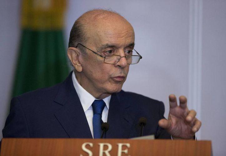 El ministro de Relaciones Exteriores de Brasil renunció al cargo argumentando problemas de salud. (Archivo AP/Rebecca Blackwell)