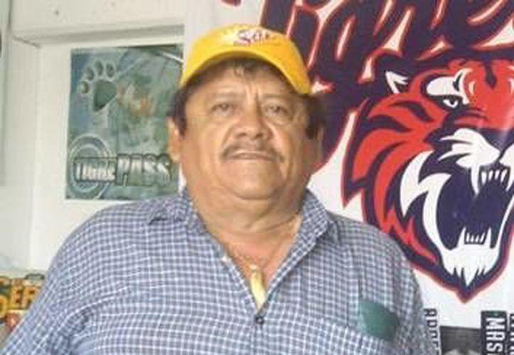 El coordinador de ampáyers Luis Alberto Ramírez dio su aval para la organización del evento. (Redacción/SIPSE)