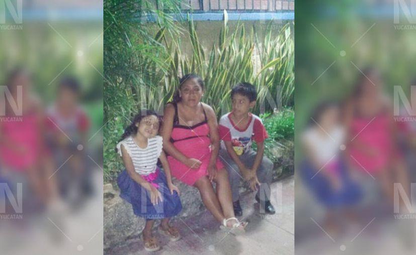 Desde el miércoles pasado no se sabe nada de Rebeca y sus dos hijos. (Novedades Yucatán)