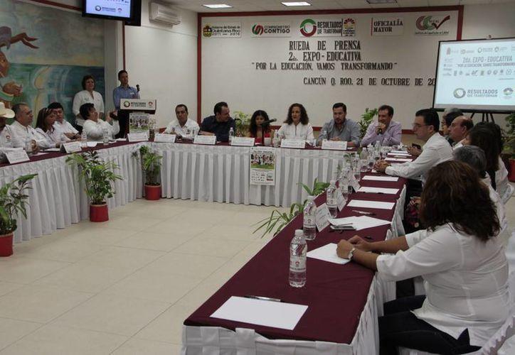 Informan que la Expo-Educativa se hará el próximo 14 de noviembre. (Tomás Álvarez/SIPSE)