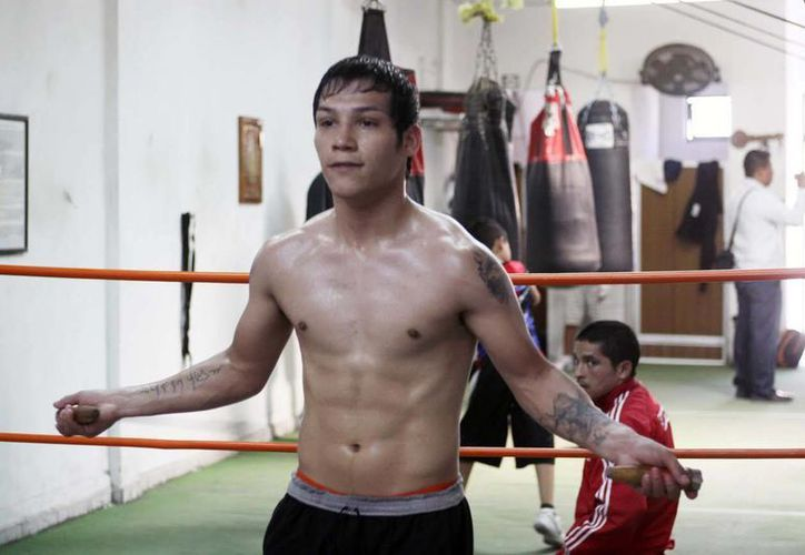 'Tyson' Márquez entrena en su propio gimnasio, en Hermosillo, Sonora. (sondeportes.com)