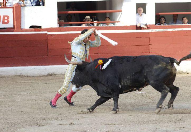 El Zapata dio muestras de su habilidad con las banderillas. (Fotos: Milenio Novedades)