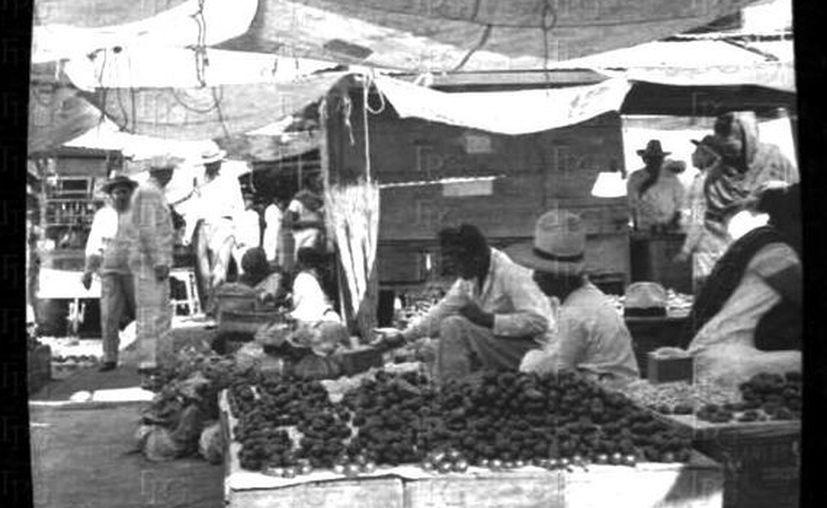 """El  primer nombre del actual García Rejón fue """"Plaza de las Verduras"""", aunque también se le conoció durante  décadas como """"La Placita"""". (Sergio Grosjean)"""