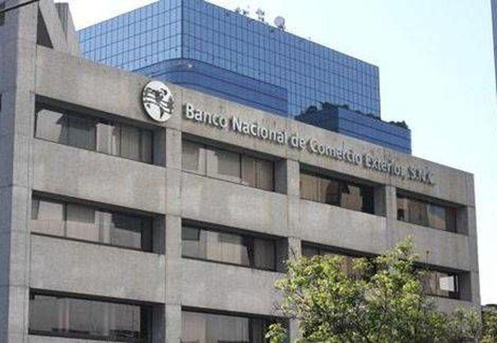 El director general de Bancomext informó que este organismo alcanzó los 102 mil 615 mdp en 2013. (Milenio)