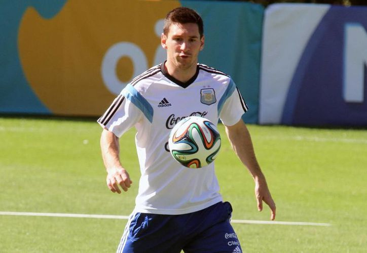 Messi tratará de ganar en Brasil el primer Mundial de su carrera. Ya jugó los de 2006 y 2010. (EFE)