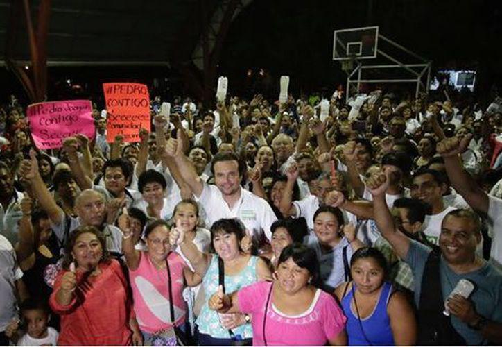 """""""Tenemos que unirnos y por eso no les voy a fallar"""" afirmó el candidato cozumeleño. (Redacción/SIPSE)"""