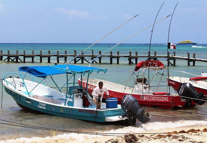 Los pescadores venden su captura en negocios locales o la emplean para el autoconsumo. (Octavio Martínez/SIPSE)
