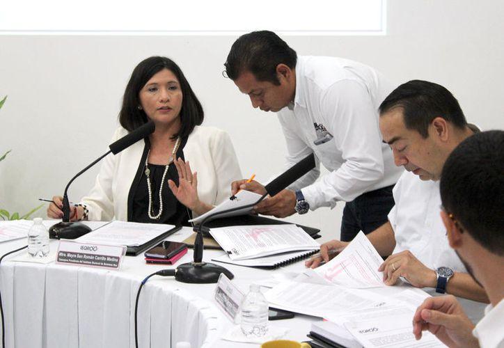 Morena, pretendió que Mayra Carrillo fuera removida del cargo por una serie de supuestas irregularidades. (Joel Zamora/SIPSE)
