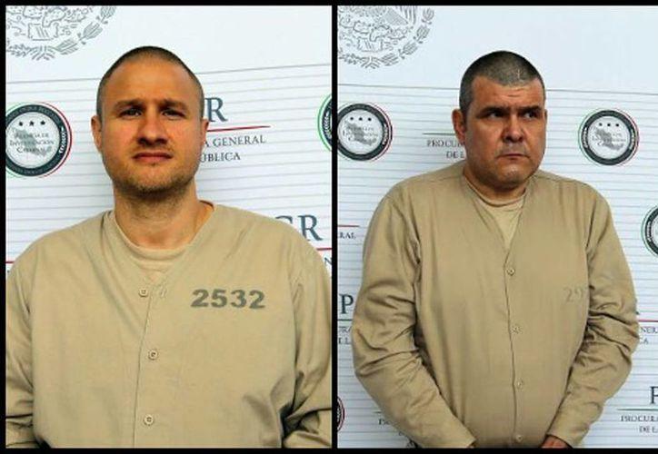 Édgar Valdez Villarreal, 'La Barbie', y Jorge Costilla Sánchez, 'El Coss', fueron extraditados a EU. (Milenio)