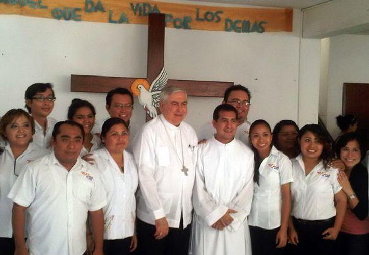 El padre Uicab fue coordinador diocesano de la Pastoral Juvenil en Yucatán. (SIPSE)