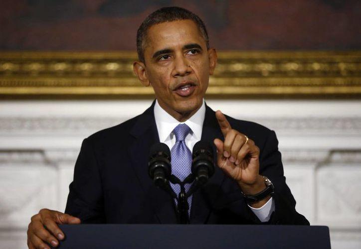 Obama mezcló duras críticas contra los republicanos con un alegato en favor de la cooperación en lo que resta del año. (Agencias)
