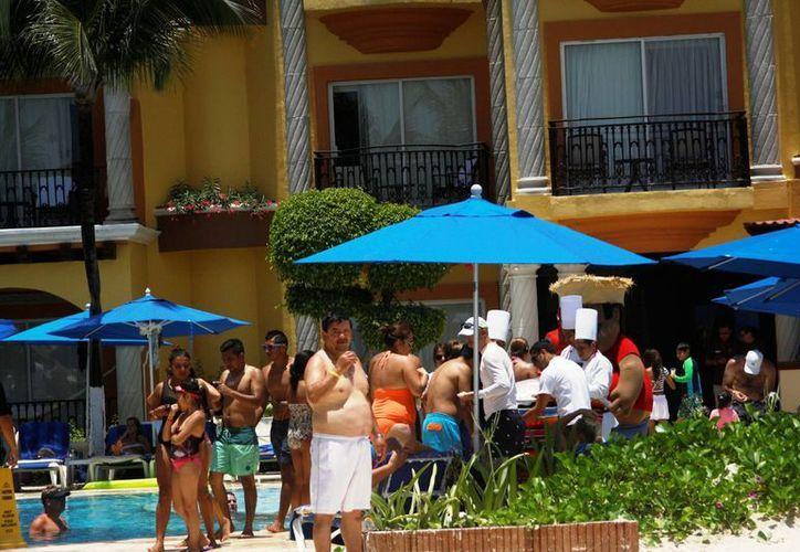 La ocupación hotelera durante julio de este año superó por ocho puntos porcentuales a la de 2013. (Octavio Martínez/SIPSE)