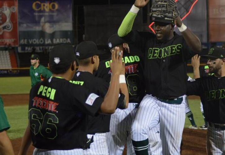 Leones de Yucatán doblegaron por limpia en Mérida Broncos de Reynosa. Este jueves los melenudos ganaron 7-2. (Milenio Novedades)