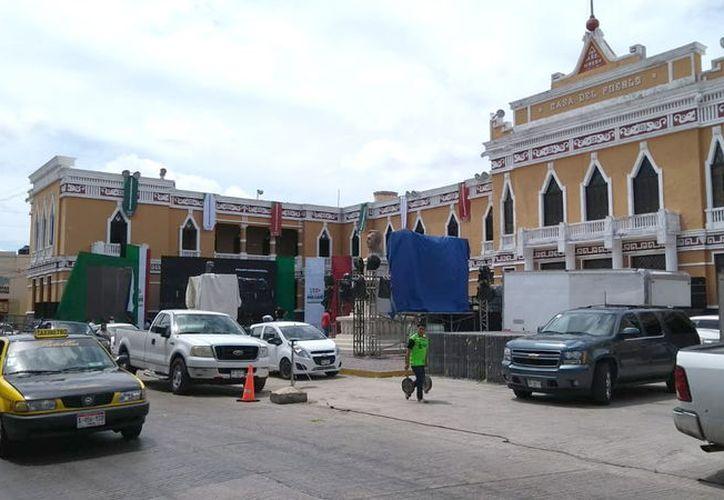 Casa del pueblo, sede del PRI estatal. (Foto: Milenio Novedades)