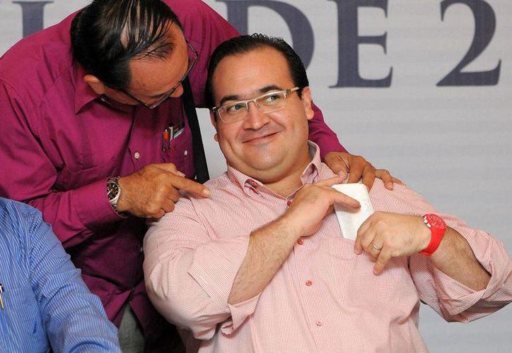Javier Duarte, gobernador con licencia de Veracruz, se encuentra prófugo desde el pasado 19 de octubre.  (Yahir Ceballos/Proceso)