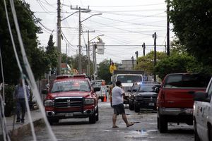 Lluvia 'huracanada' en Mérida