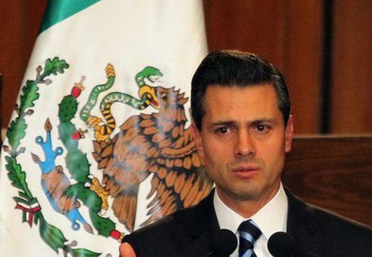 Peña Nieto reconoció que el Estado tiene un largo camino que recorrer para universalizar el goce efectivo de los derechos humanos. (Archivo/Notimex)