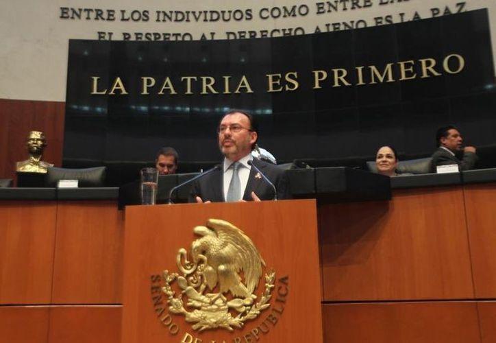 Secretario de Relaciones Exteriores, Luis Videgaray. (Luis Videgaray)