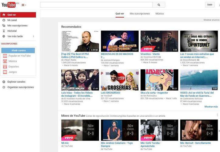 La plataforma YouTube es aún una herramienta a explora. (Redacción/SIPSE)