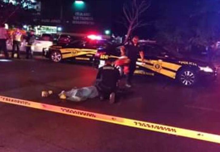 Se dijo que la patrulla implicada en el atropellamiento acababa de atender otro accidente.