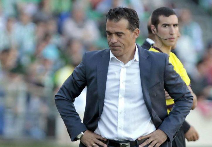 Luis García (foto) deja el timón en el Getafe para la llegada del rumano Cosmin Contra en la lucha por el no descenso. (EFE)