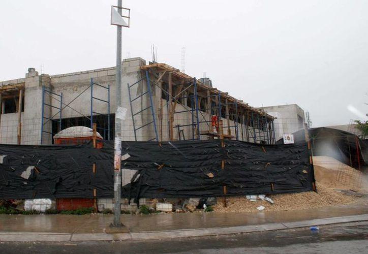 Las construcciones incumplen con la documentación requerida por el Ayuntamiento. (Octavio Martínez/SIPSE)
