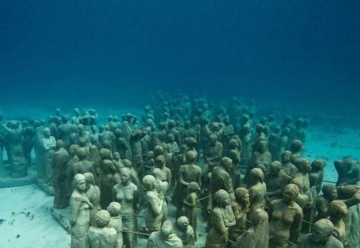 El Museo Subacuático de Arte es único en su tipo en el mundo. (Archivo/SIPSE)