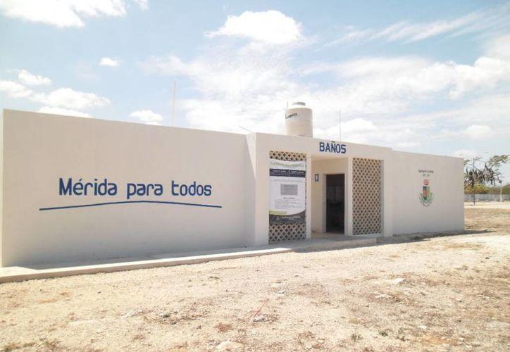 Nuevas instalaciones en la Central de Abastos de Mérida. (Cortesía)