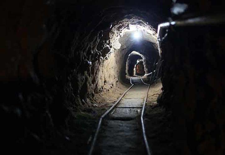 El túnel no había sido terminado en la parte que se encontraba en territorio estadounidense. (Archivo/Excélsior)