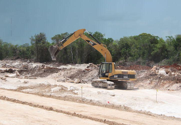 Disminuye la construcción en la entidad en el primer trimestre, Inegi. (Foto: Benjamín Pat)