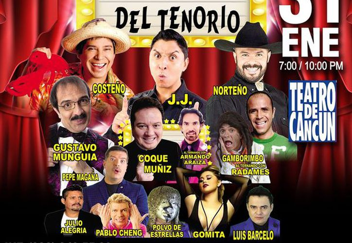 El público disfrutará de 11 comediantes en escena durante dos horas. (Jocelyn Díaz/SIPSE)