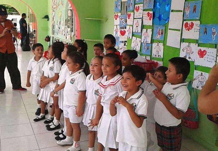Las escuelas de preescolar podrán modificar sus horarios, la fecha máxima para hacerlo es este 23 de septiembre. (Irving Canul/SIPSE)