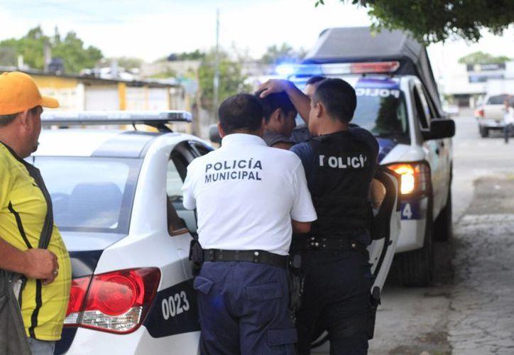 Se han realizado alrededor de 600 detenciones de igual número de personas, involucradas con el crimen organizado. (Gerardo Amaro/SIPSE)