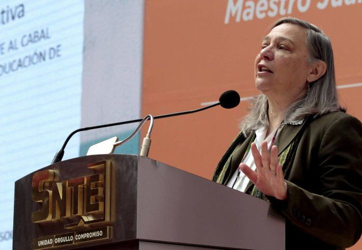 Sylvia Schmelkes, titular del INEE, aseguró que la prueba Planea garantiza información confiable sobre la situación de los estudiantes. (Archivo/Notimex)