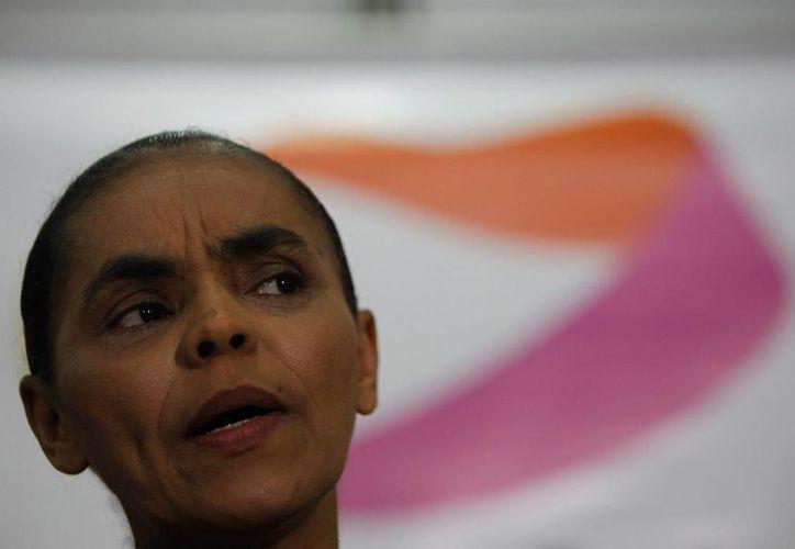 Imagen de la ecologista y candidata presidencial del Partido Socialista Brasileño, Marina Silva. (Archivo/EFE)