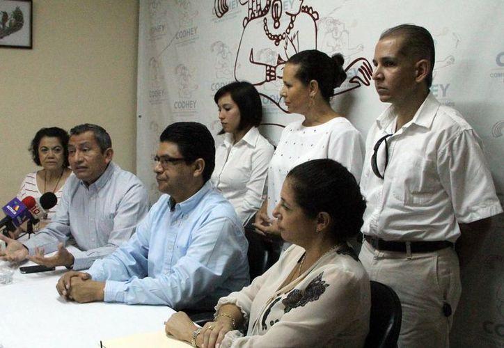 Integrantes del Equipo Contra el Abuso Infantil (ECAI). (José Acosta/SIPSE)