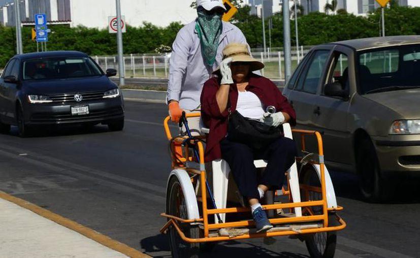 Para hoy martes se pronostican temperaturas máximas de entre los 35.0 y 39.0 grados Celsius en Yucatán. (Milenio Novedades)