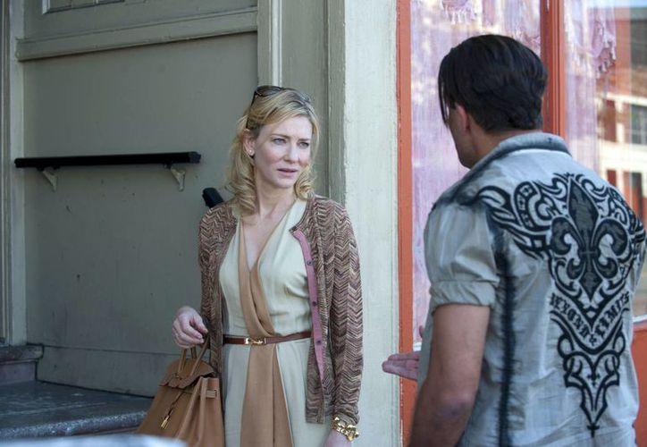 Cate Blanchett es una de las nominadas como mejor actriz protagonista por su rol en Blue Jasmine. (Agencias)