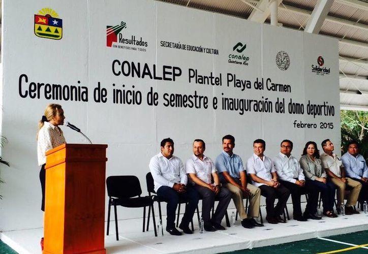 El plantel recibió un importante apoyo por parte de la Fundación Comunitaria Cozumel IAP y el Monte de Piedad. (Redacción/SIPSE)